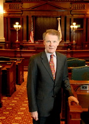 Speaker Michael Madigan (D-Chicago)